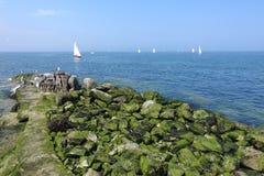 Irish sea landscape Royalty Free Stock Images