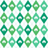 Irish seamless pattern Royalty Free Stock Photo