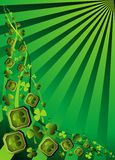 Irish Shamrock Clover. Royalty Free Stock Image