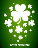 Irish Shamrock Clovers Royalty Free Stock Photo
