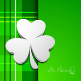 Irish shamrock leaves background Royalty Free Stock Photos