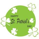 Irish shamrock leaves background for Happy St. Patrick`s Day. EPS 10. Irish shamrock leaves background for Happy St. Patrick`s Day. EPS 10 Stock Photography
