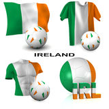 Irish Soccer Royalty Free Stock Image