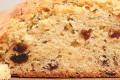 Irish Soda Bread. Macro of sliced Irish Soda Bread Stock Images