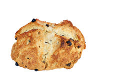 Irish Soda Bread on White Background Stock Photography