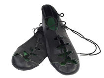 Irish soft dancing shoes Royalty Free Stock Photos