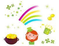 Irish and St. Patrick's Day icons Stock Photography