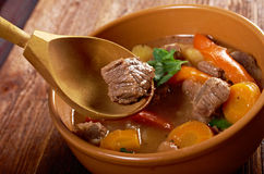 Irish stew farm-style Royalty Free Stock Images