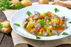Irish stew Stock Image