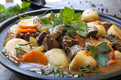 Irish Stew Stock Photo