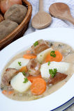Irish stew, a specialty from Ireland Royalty Free Stock Images