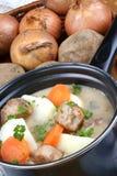 Irish stew, a specialty from Ireland Royalty Free Stock Photo