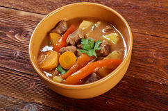 Irish stew with tender lamb meat Stock Photography