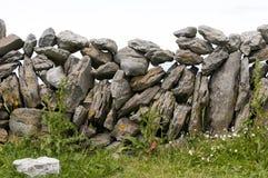 Irish stonewall Royalty Free Stock Photography