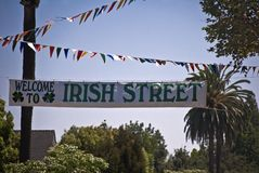 Irish Street Royalty Free Stock Photos