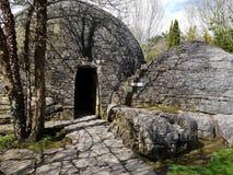 Irish Stud National park ruins. Irish Stud National park and gardens ,Kildare,Ireland royalty free stock photography