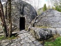 Irish Stud National park. And gardens and ruins ,Kildare,Ireland royalty free stock photos