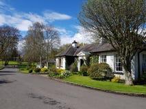 Irish Stud National park. And historic house and gardens ,Kildare,Ireland stock photo