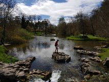 Irish Stud National park. And gardens ,Kildare,Ireland royalty free stock image