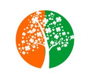 Irish symbols Royalty Free Stock Images