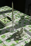 Irish table setting Stock Image