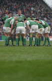 Irish Team,Ireland V Italy,6 Nations Rugby Stock Photo