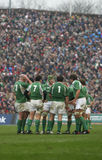 Irish Team,Ireland V Italy,6 Nations Rugby Stock Photos