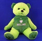 Irish    Teddy bear Stock Image