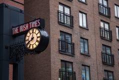 The Irish Times. Newspaper headquarters in Dublin, Ireland Stock Photos