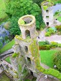 Irish tower stock photo