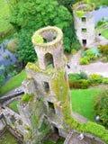 Irish tower. Ancient tower in Ireland Stock Photo