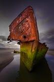 Irish trader shipwreck Royalty Free Stock Images