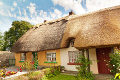 Irish traditional cottage house Stock Image
