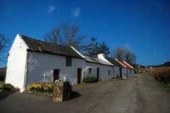 Irish Traditional House Stock Photo