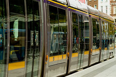 irish tramway luas Royalty Free Stock Photos
