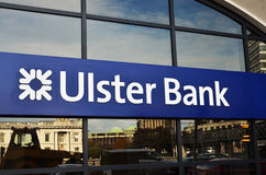 Irish Ulster Bank house Stock Images