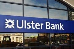 Irish Ulster Bank house Stock Images