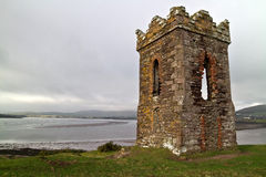 Irish watch tower Royalty Free Stock Photos