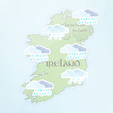 Irish Weather Forecast Royalty Free Stock Photo