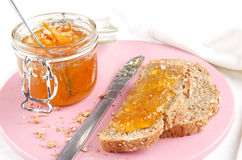 Irish whiskey orange marmalade Royalty Free Stock Photos