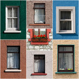 Irish windows Royalty Free Stock Images