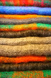 Irish wool. Colorful irish wool in dingle Royalty Free Stock Images