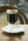 Irishcoffee stockbild