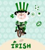 Irishman - Illustration Stock Photography