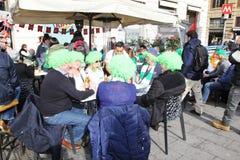 Irishs in rome Royalty Free Stock Image