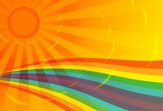 Irisierender Hintergrund Stockfoto
