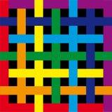 Irisierendes Quadrat Lizenzfreie Stockbilder