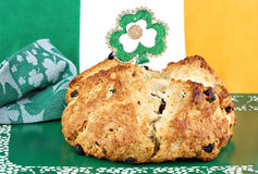Irist Soada Bread in Irish Setting Royalty Free Stock Photo