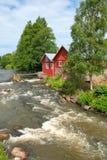 Irjanne. Eurajoki. Finland. Fatun mill and sawmill Stock Images