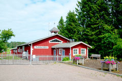 Irjanne, Eurajoki finland Museo di agricoltura Fotografia Stock